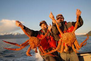 Tam, kde žije krab v Kamchatce