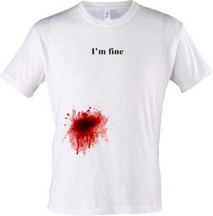 Krevní skvrny na oděvu