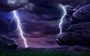 Búrka během bouřky může varovat před zklamáním