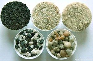 Typy půdy pro carium
