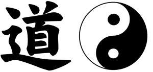 Na obrázku jsou symboly Tao