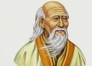 Thinker a filozof Lao Tzu - portrét