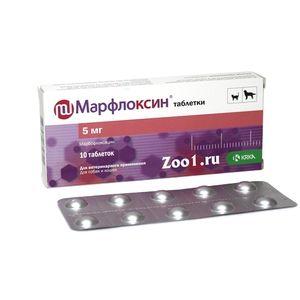Marfloxin tablety pro psy a kočky