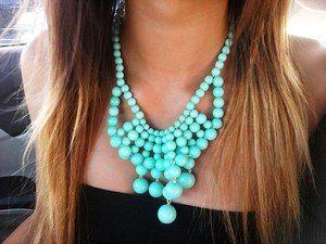 Co to znamená, že nosíte tyrkysový náhrdelník?